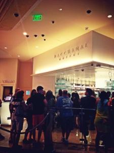The queue!