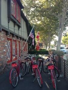 Bikes at Hamlet Inn