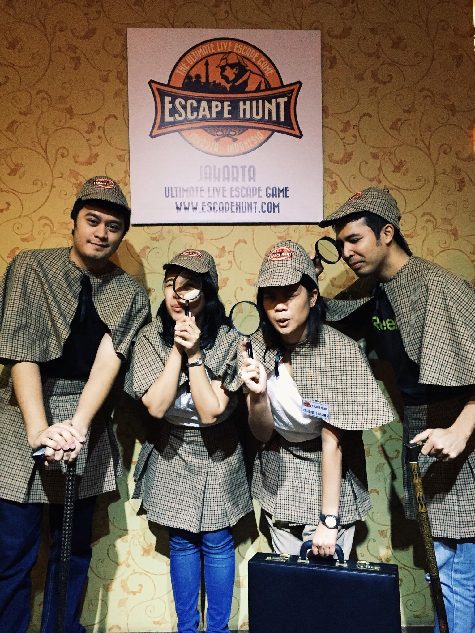 Escape Hunt Jakarta Christa Bercerita