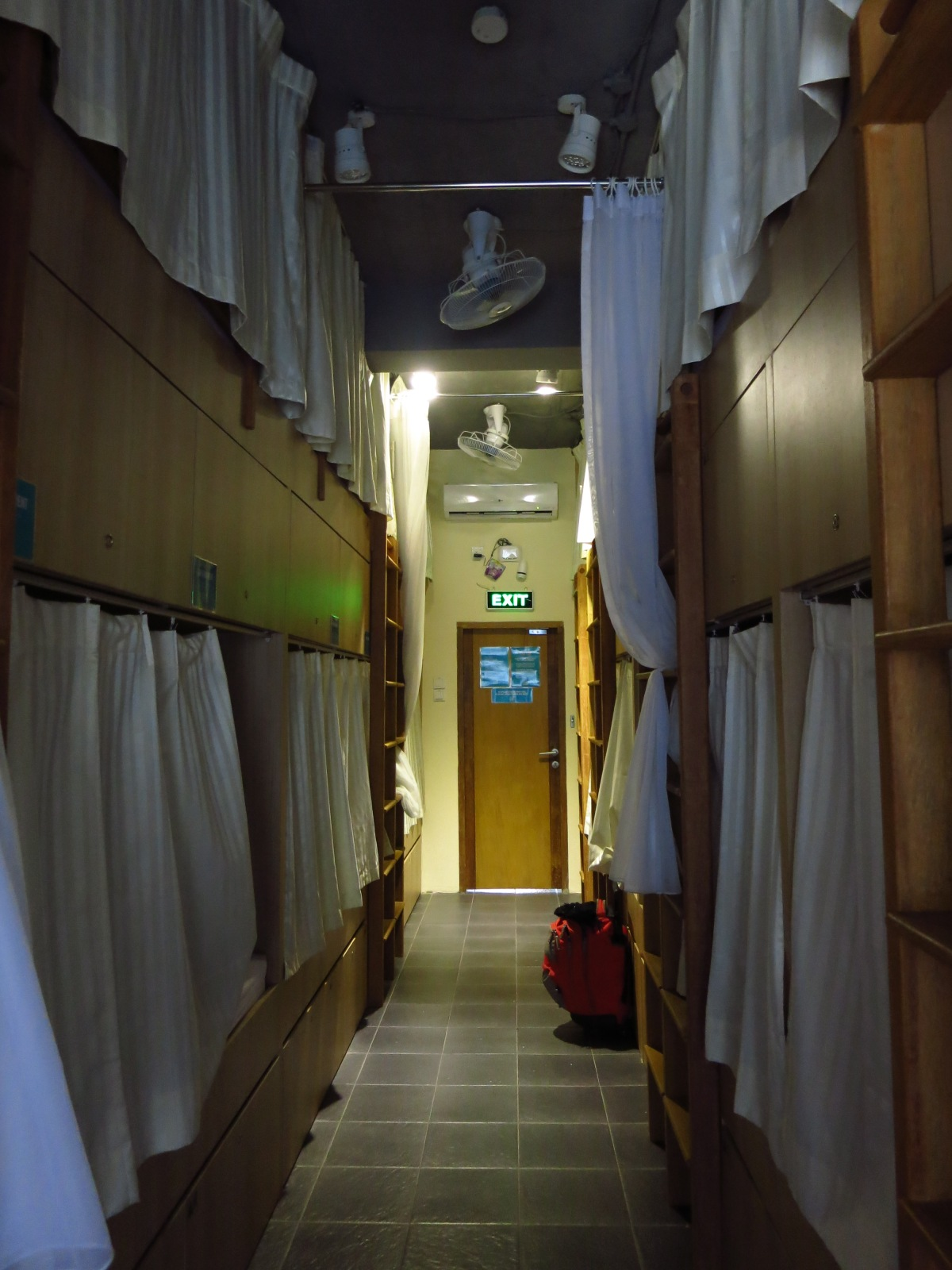 My stay at Teduh Hostel Kota Tua