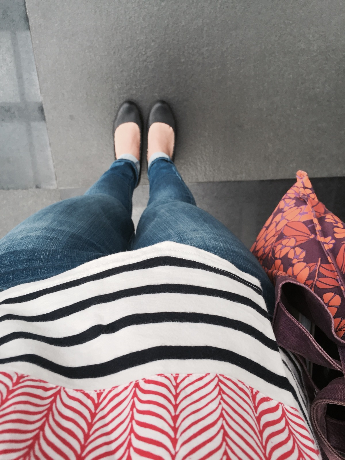 The kind of post that you won't see often –OOTD!