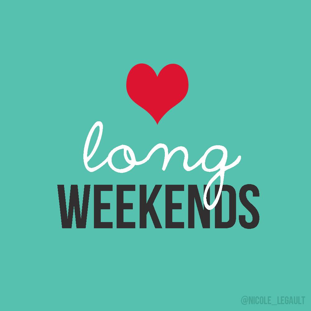 Long weekend wellspent
