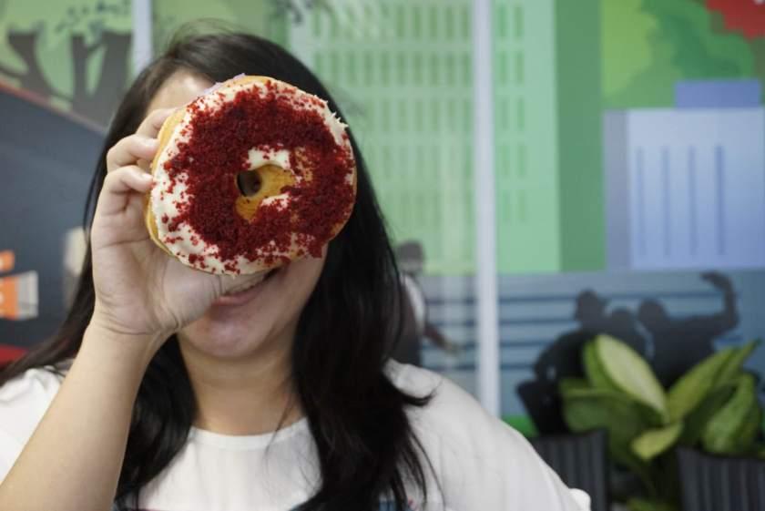Red Velvet Doughnut :))))