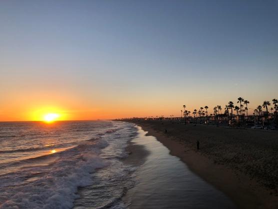 Sunset Balboa Pier