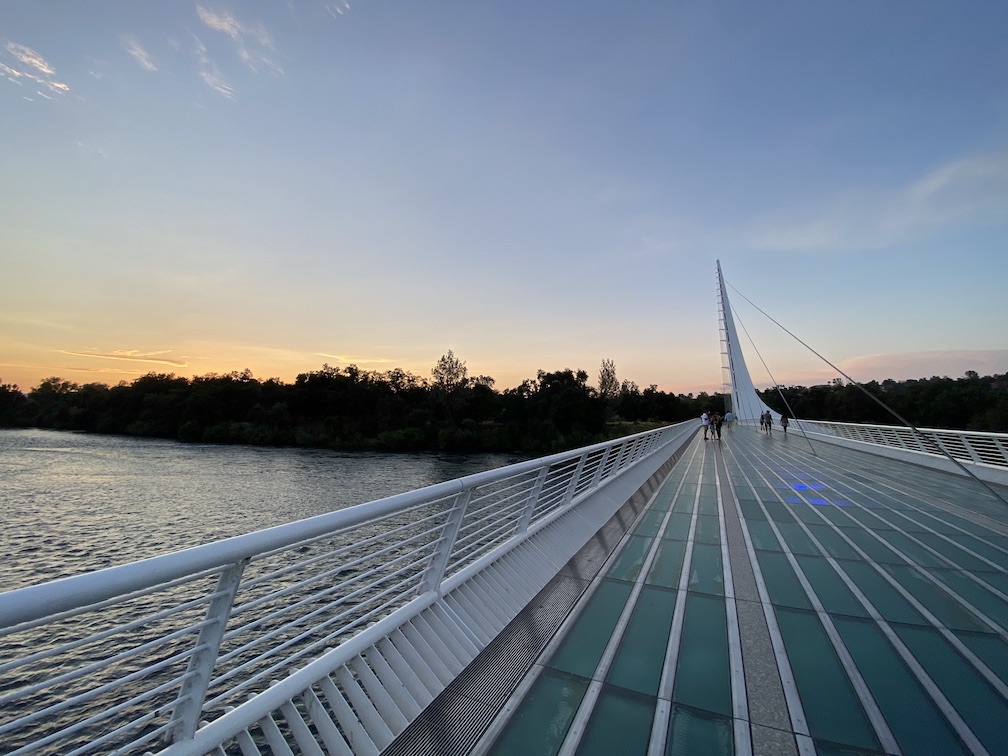 Sundial Bridge Redding CA